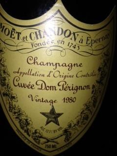 1980 Dom Pérignon