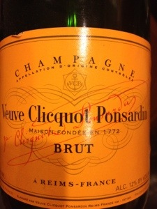 Veuve is located in Reims, but it tastes equally good in Epernay….