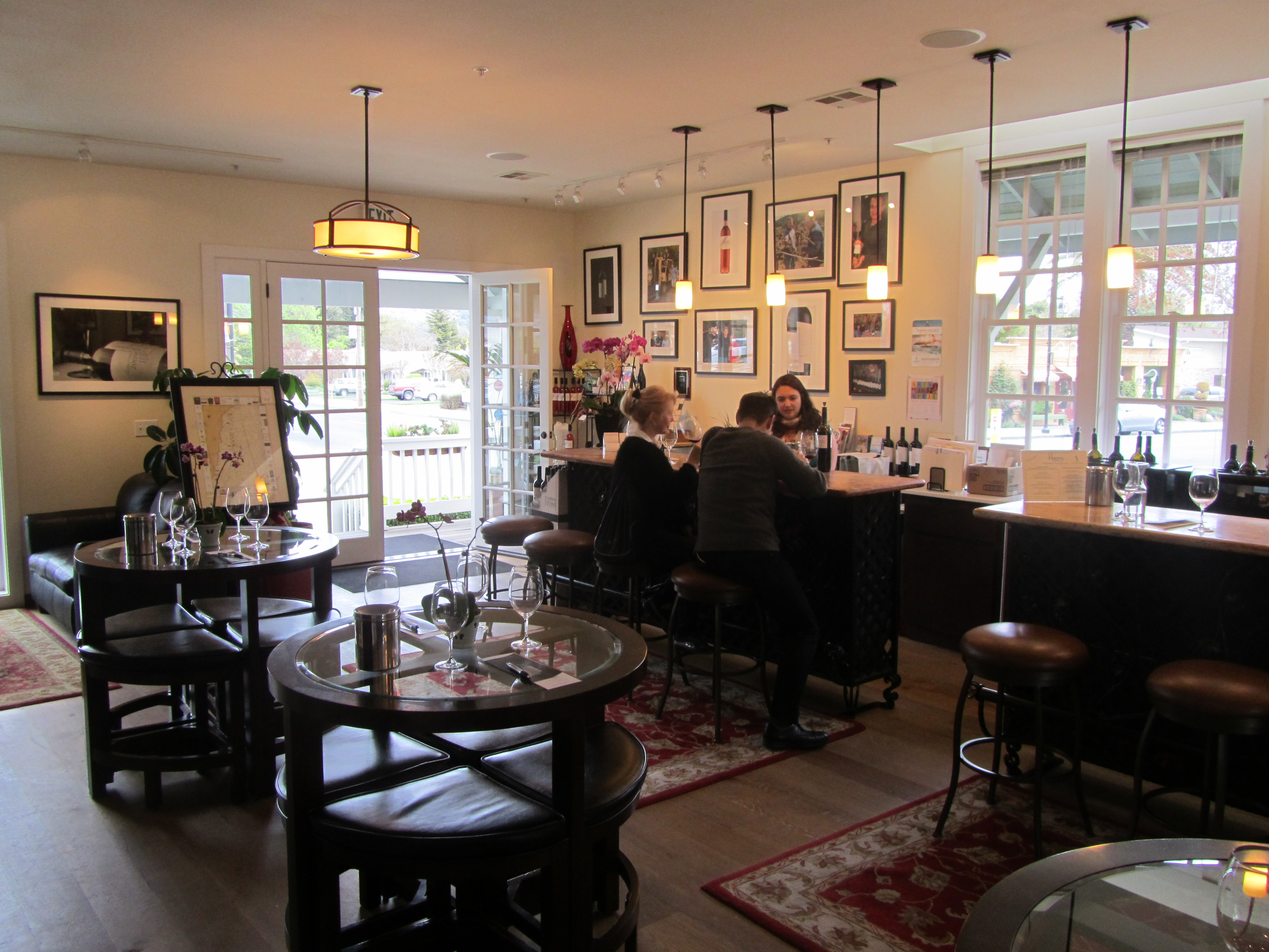 The Cornerstone Tasting Room in Yountville