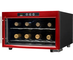 "Nothing says ""waste"" like a wine fridge for eight bottles."