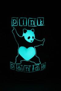 Pink Panda Glow