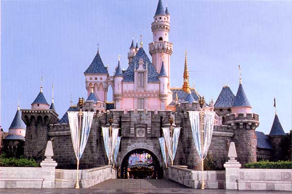 Sleeping Beauty Castle from disneypostcards.com