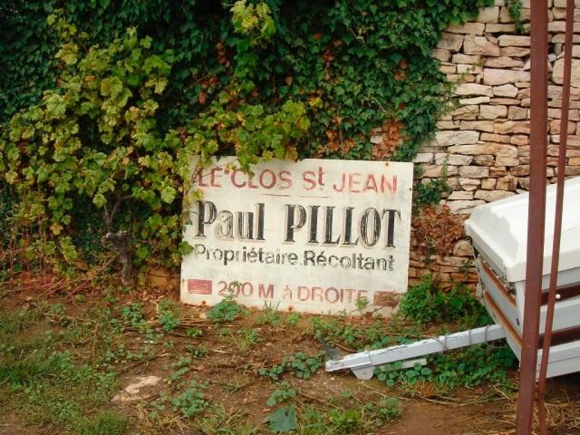 Paul Pillot in Chassagne-Montrachet