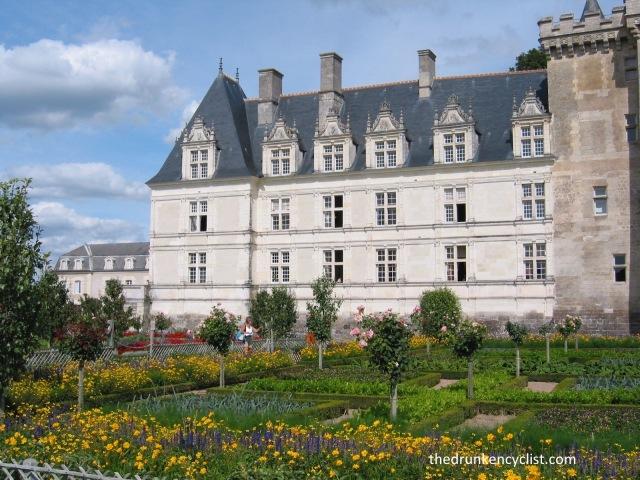 The Châteaux de Villandry et ses jardins.