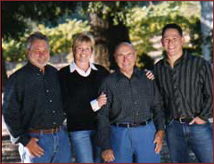 Ray, his wife Lori, Mike (who passed away in 2009) and Marc.