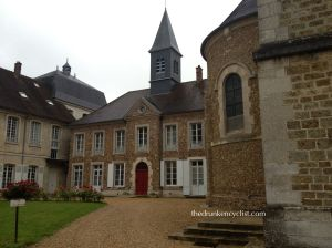 The Abbey of Jouarre--Looks cool from the outside....