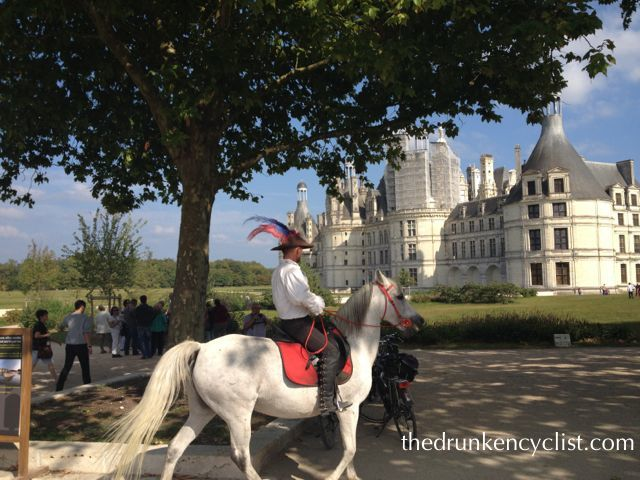 All told, there were over a dozen possible châteaux to visit--one of them the massive Chambord.