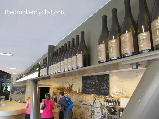 I know Domaine Huet has come under a bit of fire recently, but we had a fabulous tasting there.