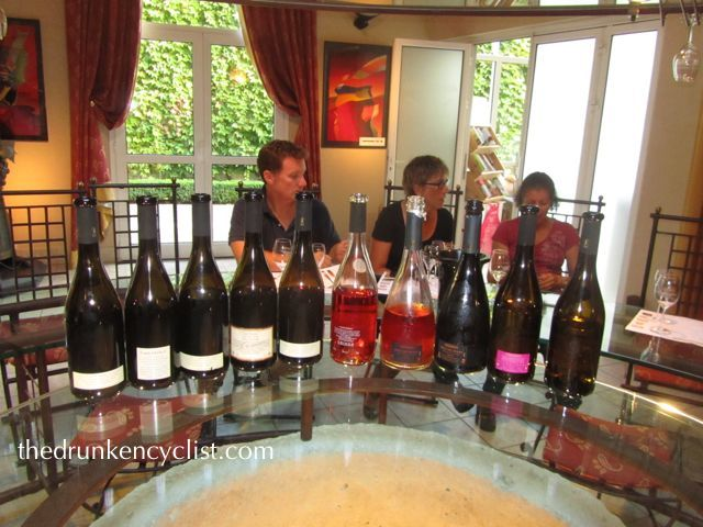 A fantastic three hour tasting at Couly-Dutheuil in Chinon.