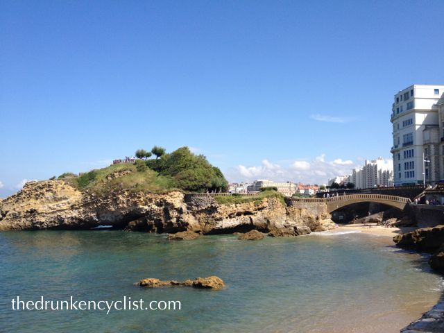 Next, up the coast a bit to the beach resort of Biarritz.