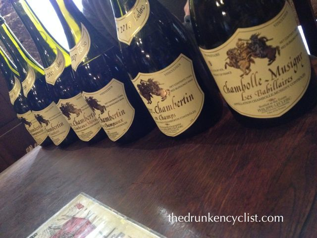 The next day did not go a whole lot better, but I managed to squeeze in a tasting in Gevrey....