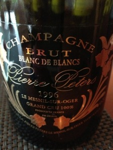 Pierre Peters 1996 Blanc de Blancs Grand Cru. From Vivino.