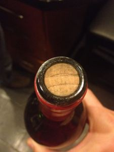 '80 Mouton cork was in fine shape.