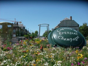 The Avenue de Champagne in Epernay. From Mademoiselle-dentelle.fr