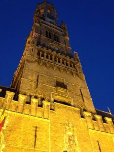 The Belfry is perhaps more stunning at night.