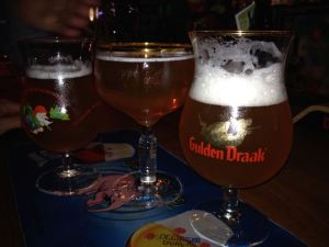 Can you name the other two beers here with the Gulden Draak?