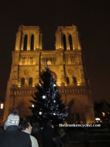 Notre Dame on Christmas Eve.