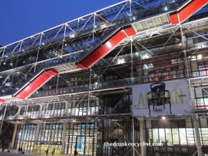 The Pompidou Center is in one of my favorite neighborhoods--Beaubourg. The museum is huge and houses only Modern Art.