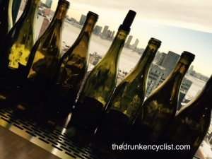 Tastings with a view of the Hudson River are always nice.