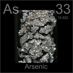 Hard to find a picture of Arsenic that looks like anything menacing...