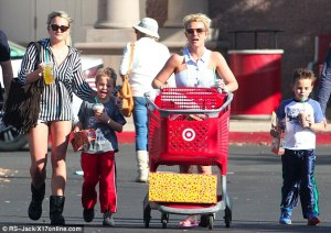 Who knows? Maybe Britney is a finalist for Mother of the Year...