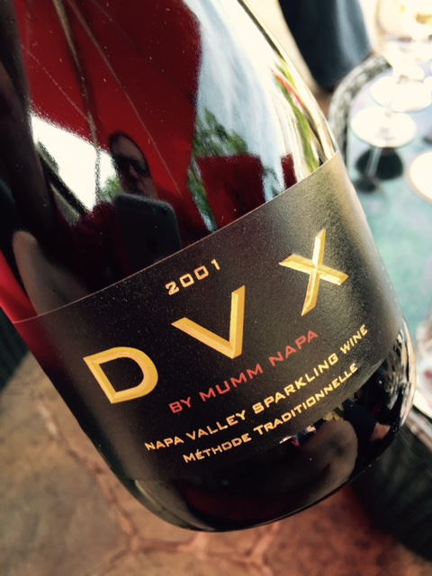 One of the several DVX wines we tasted--you just can't go wrong with DVX. Outstanding.