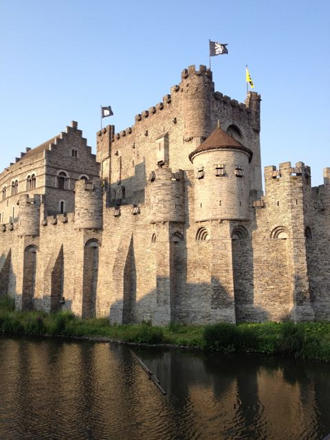 Gravensteen Castle in Gent.
