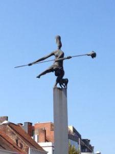 The Herbakker statue in Eeklo