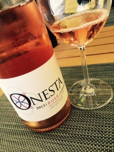 My wine of the night was likely this rosé of Consult from the 130 year-old Bechtold Vineyard.