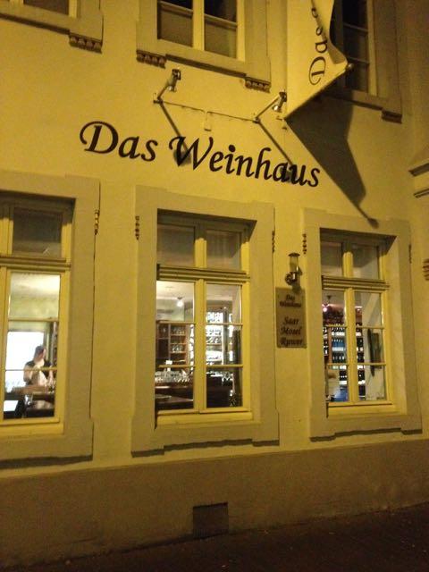 Das Weinhaus in Trier.