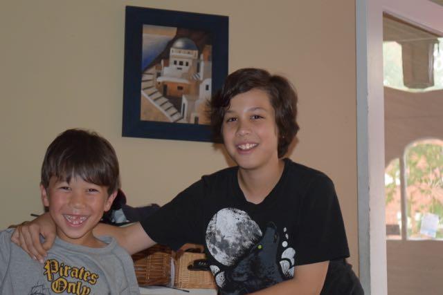 Nathan And Seba