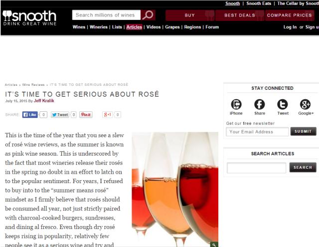 Snooth Rosé