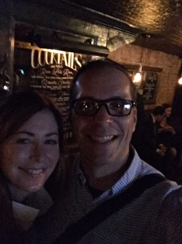 One more selfie at the after party with Dana Delaney.