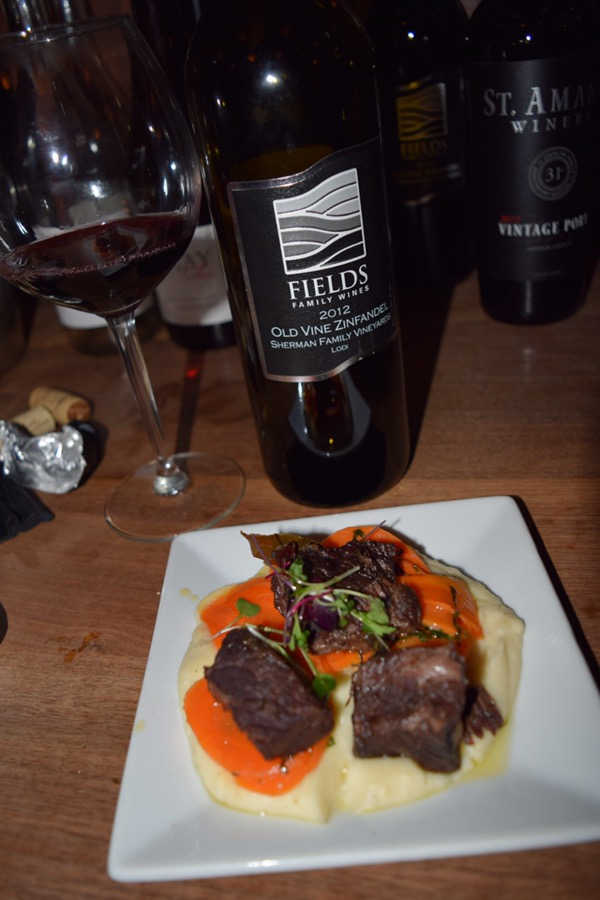Ryan Sherman is one of my favorite Lodi winemakers and the 2012 Fields Family Wines Old Vine Zinfandel is a perfect example why. A fantastic match for the