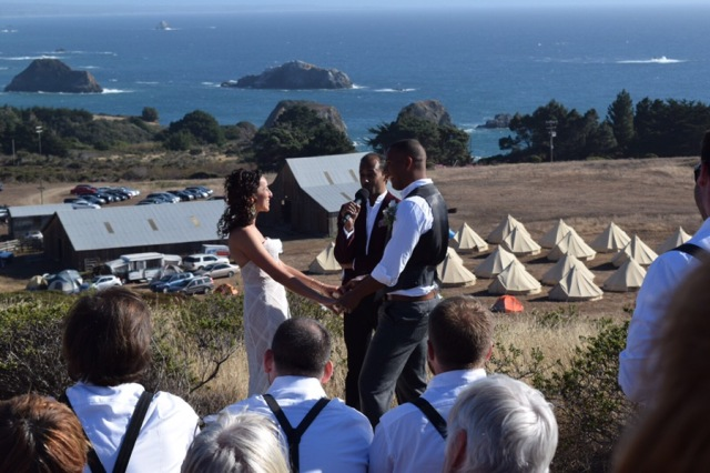 It was a stunning ceremony.