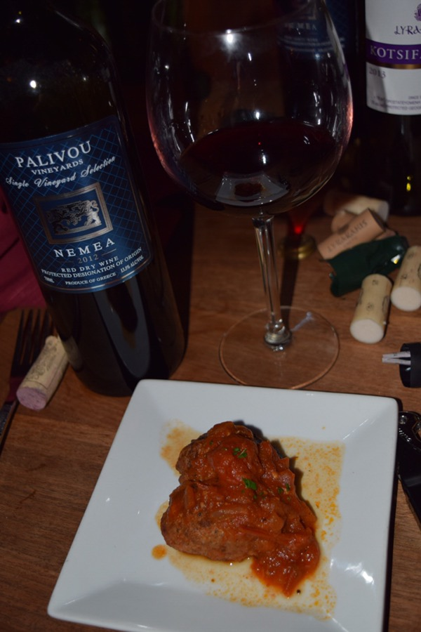 Course Three with 2012 Palivou Vineyards Nemea Red.