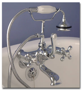 The shower head in question was not nearly this elegant, but you get the idea....