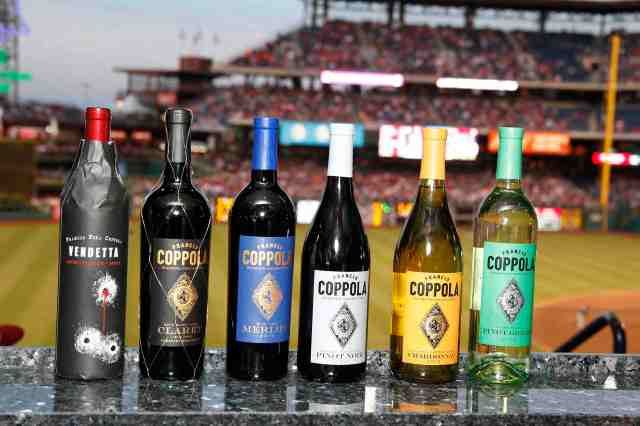 A better shot of the wine. Photo Credit: Scott Weiner for Francis Ford Coppola Winery