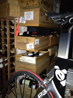 My quirky wine cellar: our old basement was an unwieldy melange of bikes and booze. And I loved it.