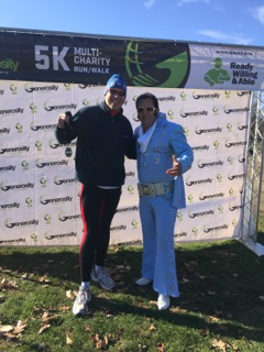 Need in Deed: I was on the Board of a truly great organization that helped teachers better reach their students. (No, it did not involve an Elvis impersonator--this was at a 5k to support the organization).