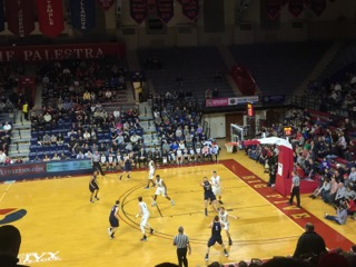 The Palestra: if you are a fan of basketball, you have to see at least one game here.