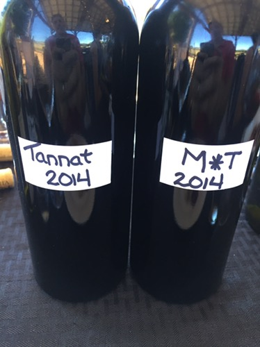 I first tasted the 2014 M*T as a barrel sample. Fabulous then and now.
