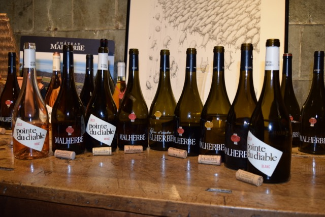 The afternoon was marked by two of my favorite tastings: Château Malherbe...