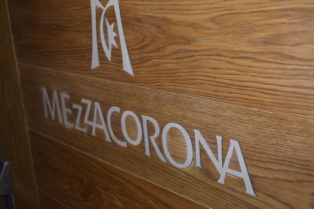 The following day we drove up to the town of Mezzacorona and the winery that shares its name.