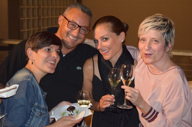 The Mezzacorona team (left to right): Giovanna, Lucio, Deanna, and Barbara.