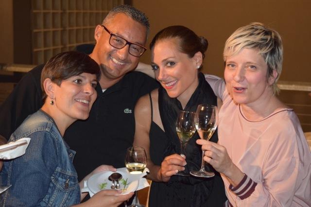 The Mezzacorona team (left to right): Giovanna, Lucio, Deanna, and Barbara.