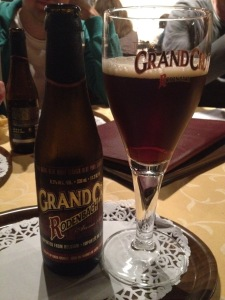 I usually opt for a Rodenbach Grand Cru within minutes of arriving in West Flanders.