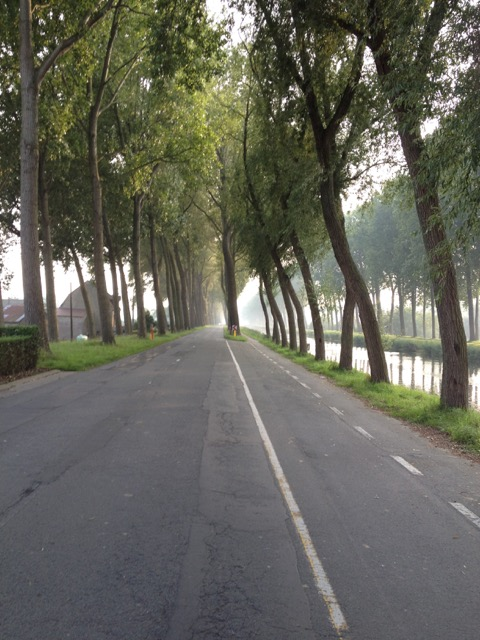 One of the roads waiting for me and my bike.