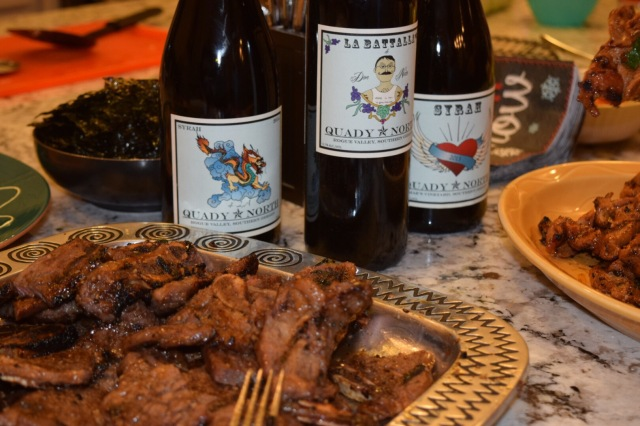 I recently had a few Quady North wines with my mother-in-law's Korean Barbecue. Whoa.